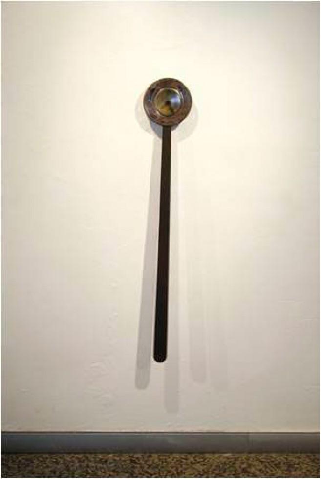 Haiku, 2006 / Acero / 123,5 x 20,5 x 7,5 cm.