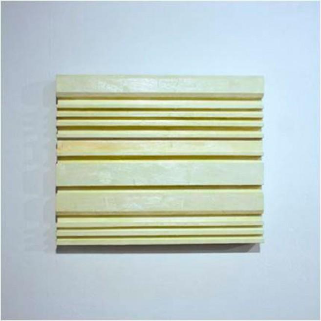 Entre Líneas, 2006 / Óleo sobre madera / 46 x 56 x 7 cm.