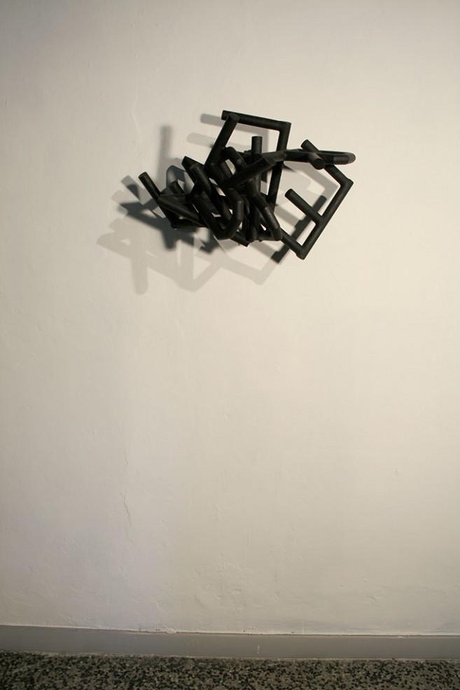 Amnesia, 2004 - 2009 / Acero / 45 x 69 x 50 cm