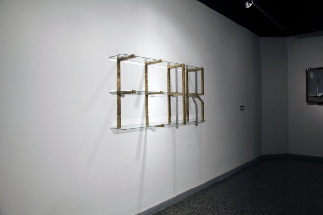 Horror vaccui, 2008-2011 / Bronze and glass / Dimensions variable
