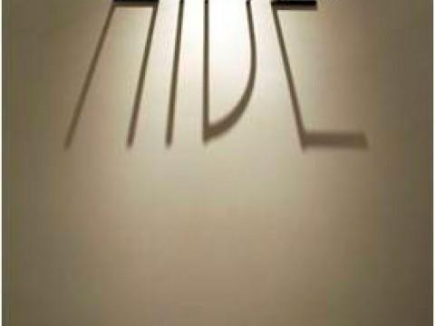 La sombra es una luz que se esconde / Acero e iluminación / Dimensiones variables