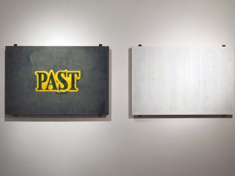 Ghost, 2008-2011 / Oil on canvas / 80 x 120 cm each one