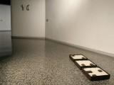 Ontología, 2009 / Acero y Sal / 42,5 x 42,5 x 10,5 cm cada una