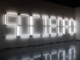 Lapsus, 2010 / Fluorescent lamps / Dimensions variable